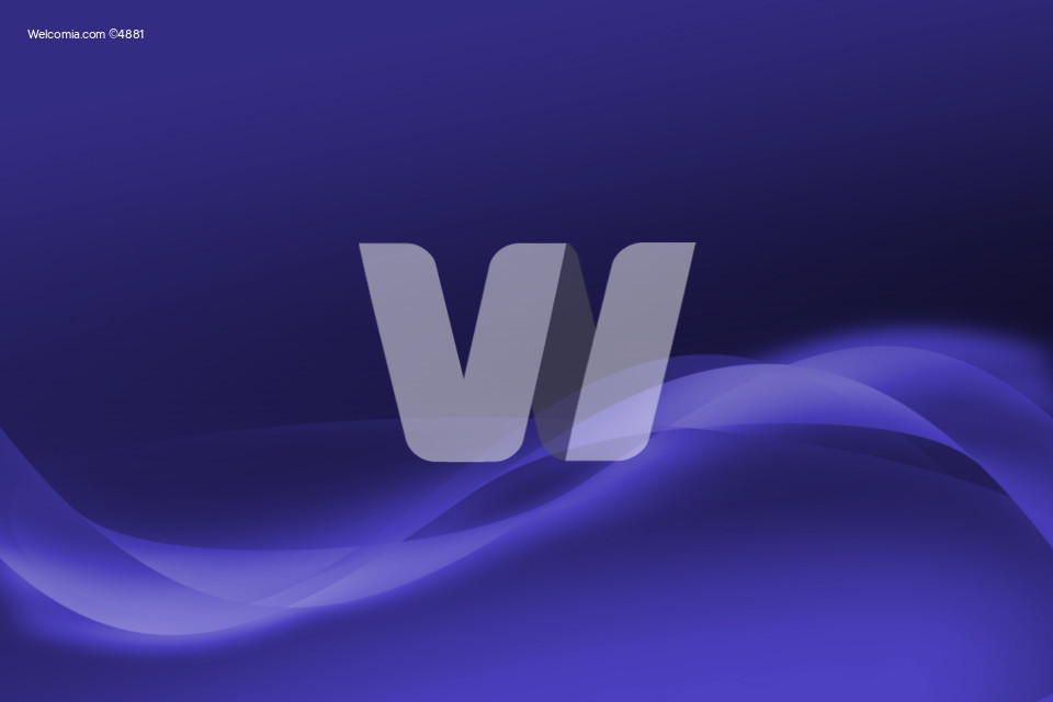 Blue-Violet Wavy Background. Simple Wavy Background.