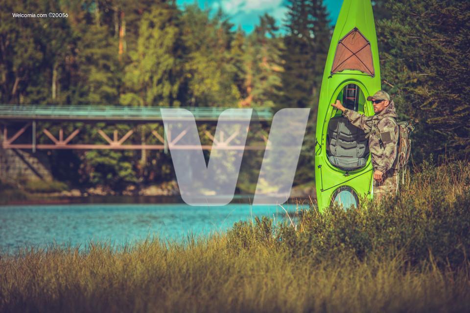 Camping with Kayak
