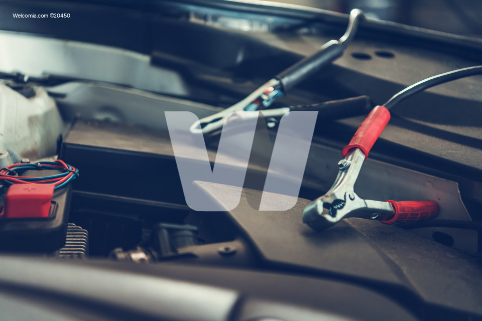 Car Jumper Cable Electrodes