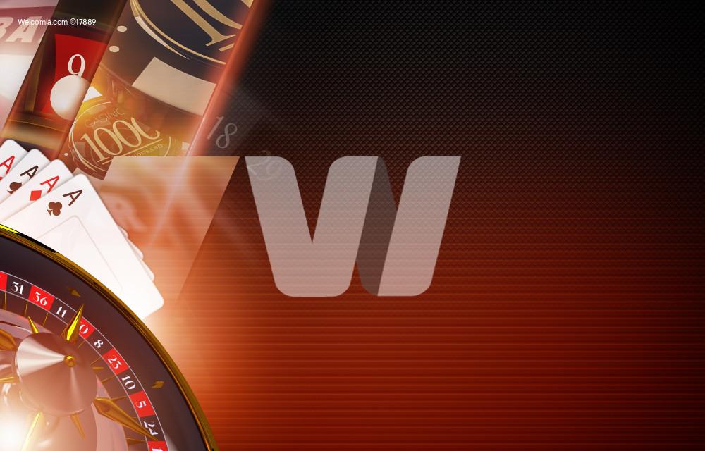 Casino Games Backdrop Concept