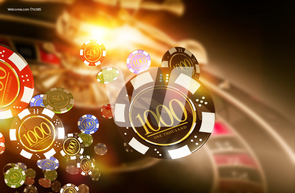 Casino Roulette Chips Blow