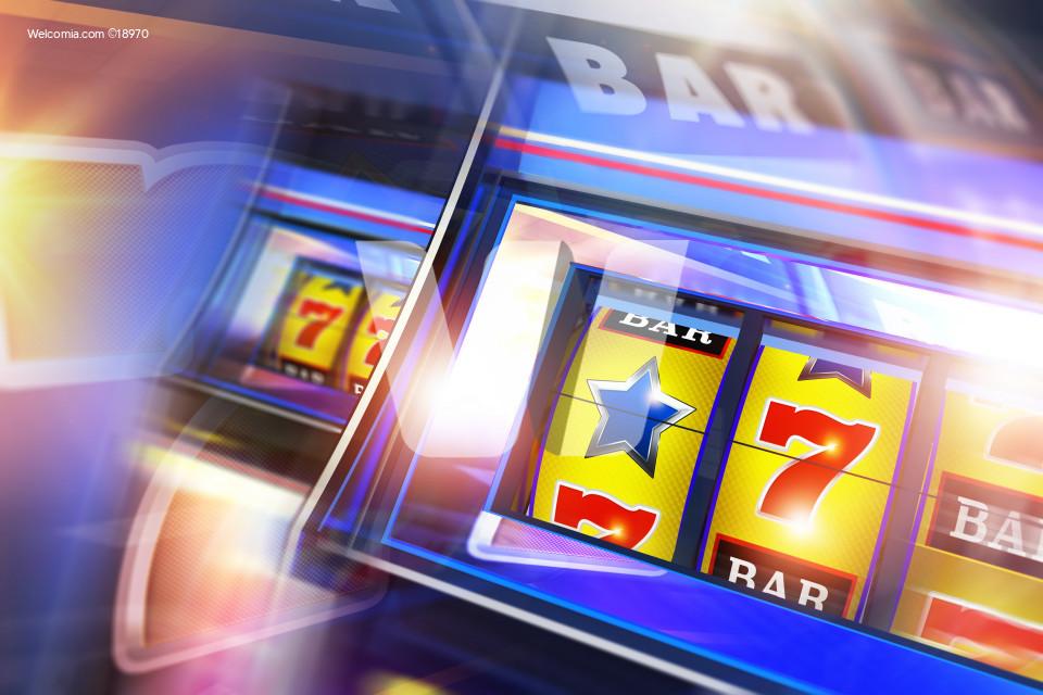 Casino Slot Machine Concept