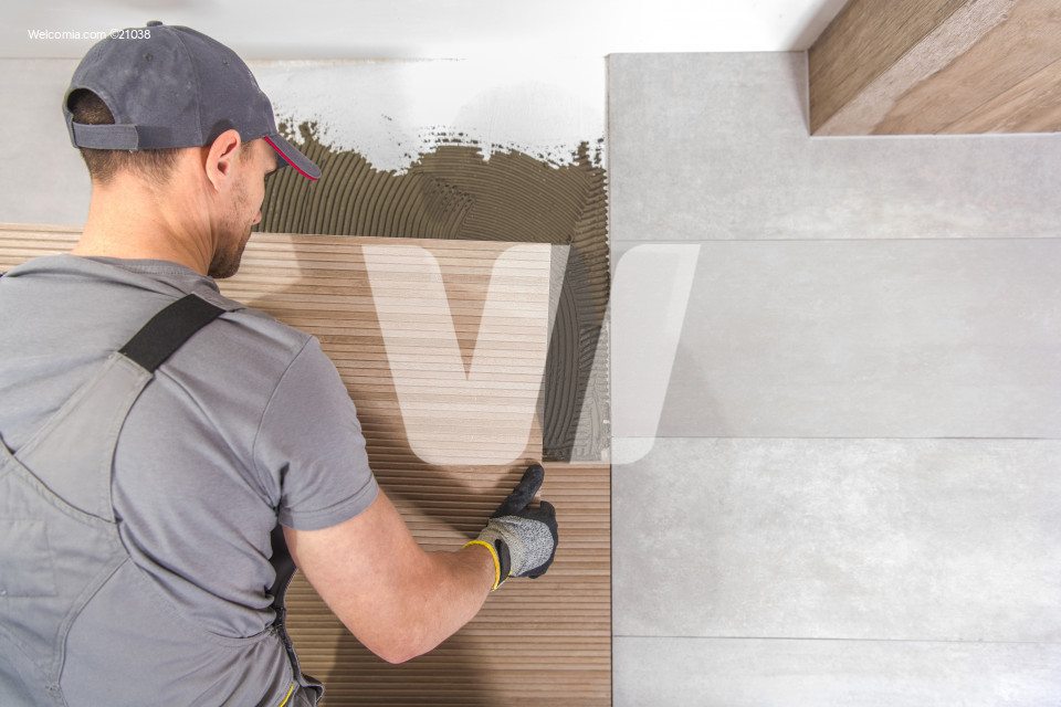 Caucasian Tiles Installer
