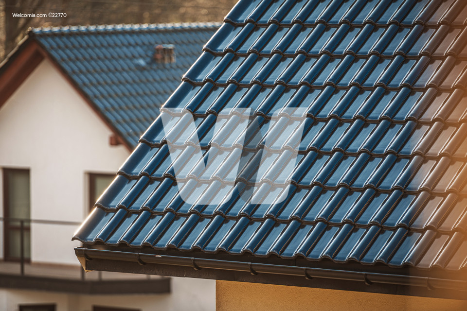 Ceramic Tiles House Roof