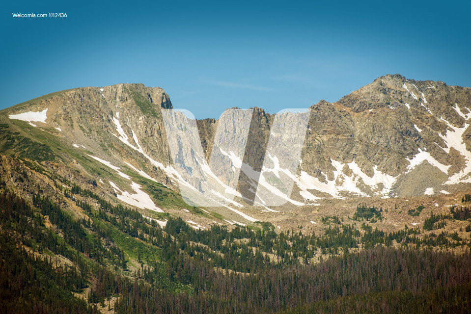 Colorado Mountain Range