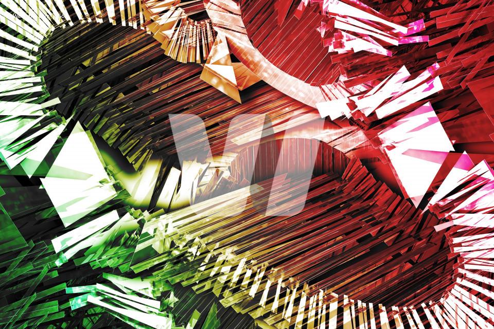 Colorful 3D Explosion