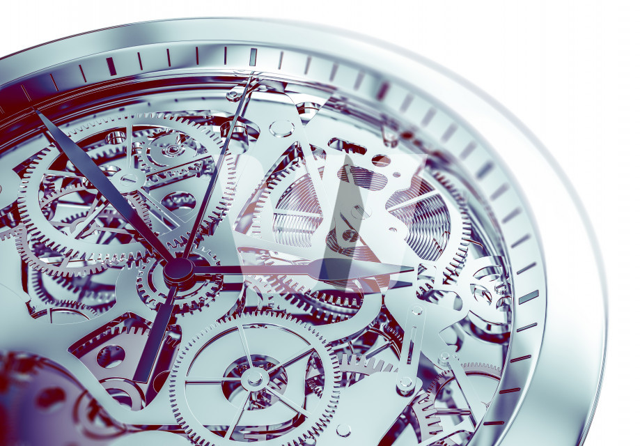 Complicated Hand Watch