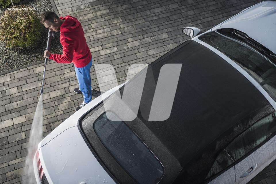 Convertible Car Pressure Wash