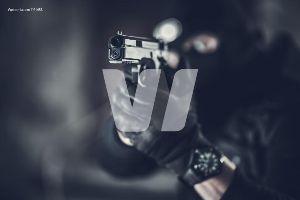 Counter Terrorist with Gun
