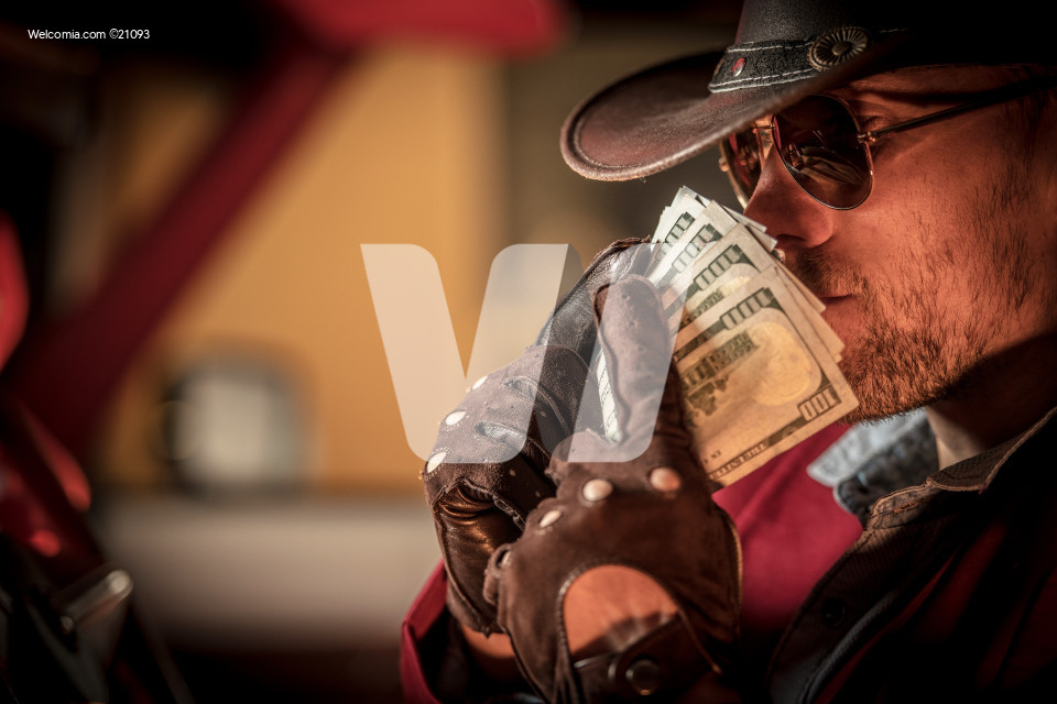 Cowboy Money Sniffing