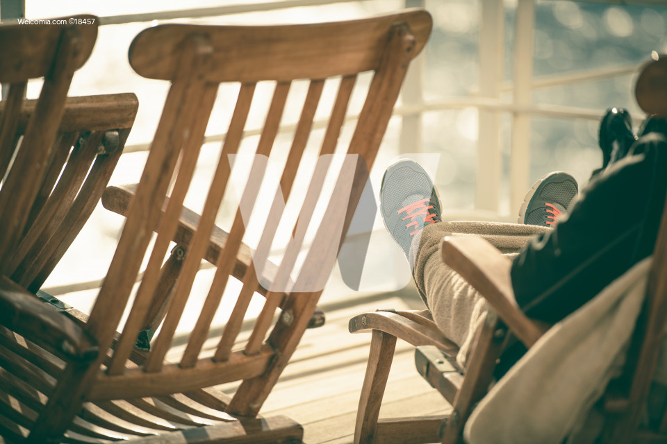 Cruise Deckchair Relaxing