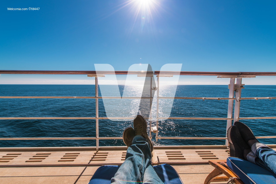 Cruise Ship Deckchairs Relax