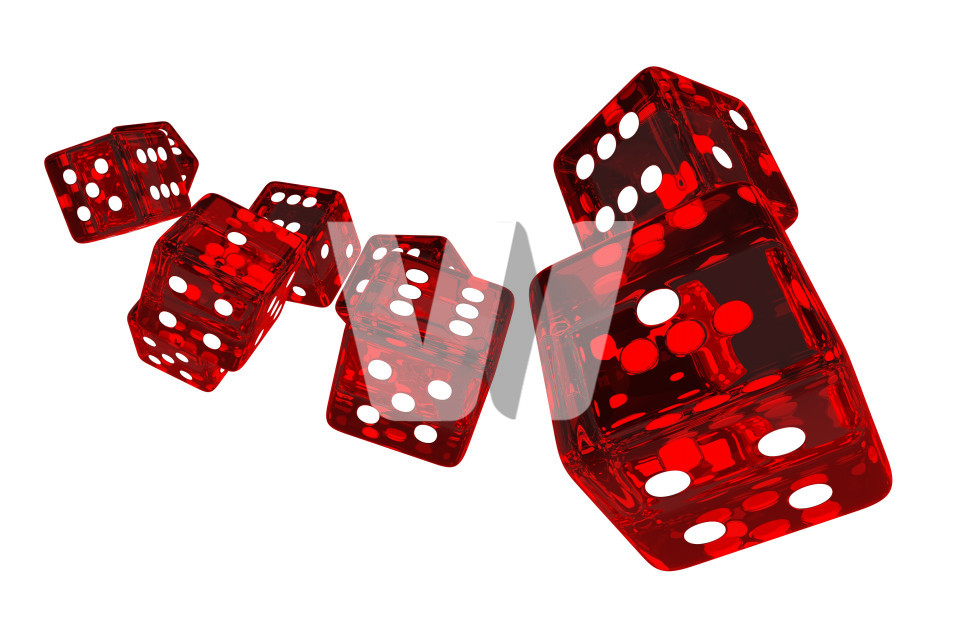 Crystal Red Casino Dices