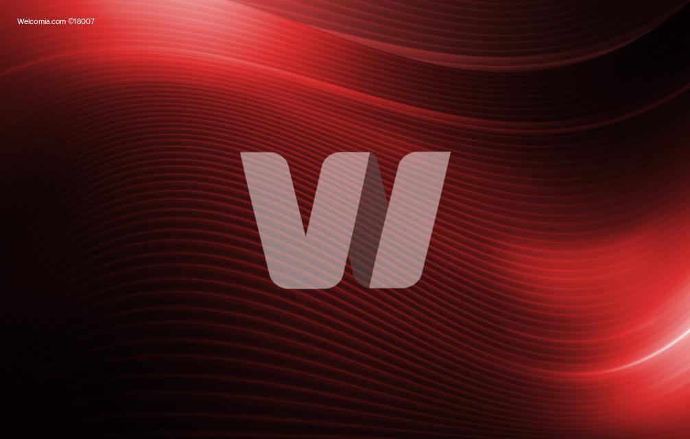 Dark Red Wavy Background
