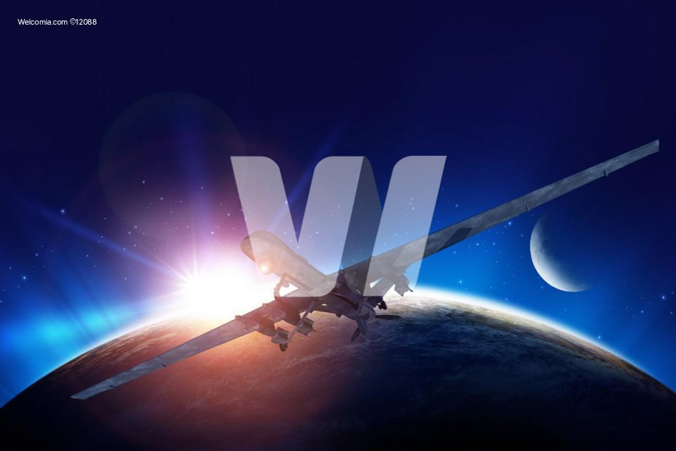 Dron Mission Illustration