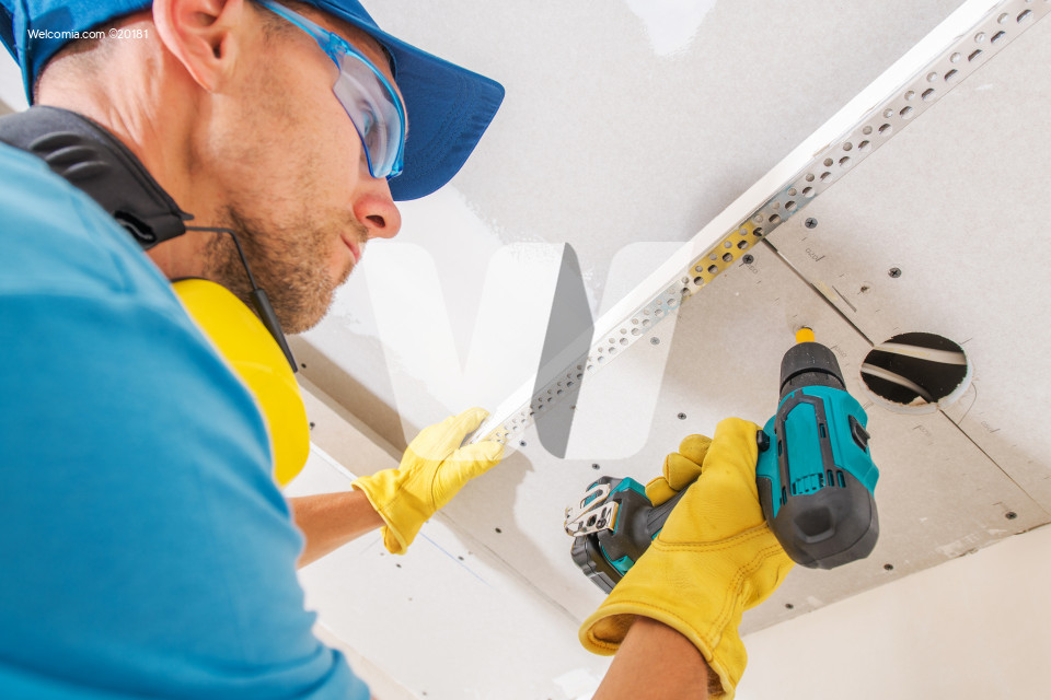 Drywall Ceiling Construction