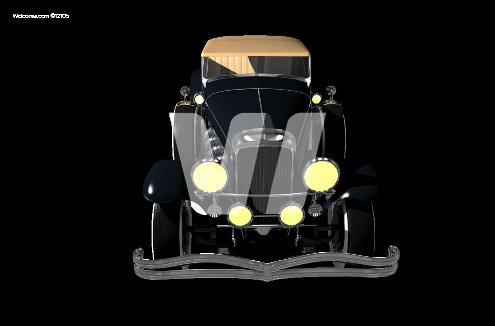 Elegant Classic Car PNG