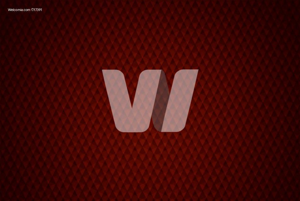 Elegant Red Geometric Backdrop