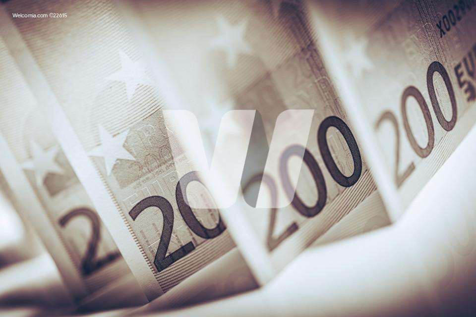 Euro Cash Elegant Concept
