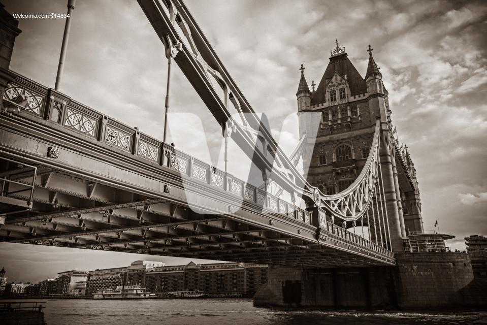 Famous London Tower Bridge
