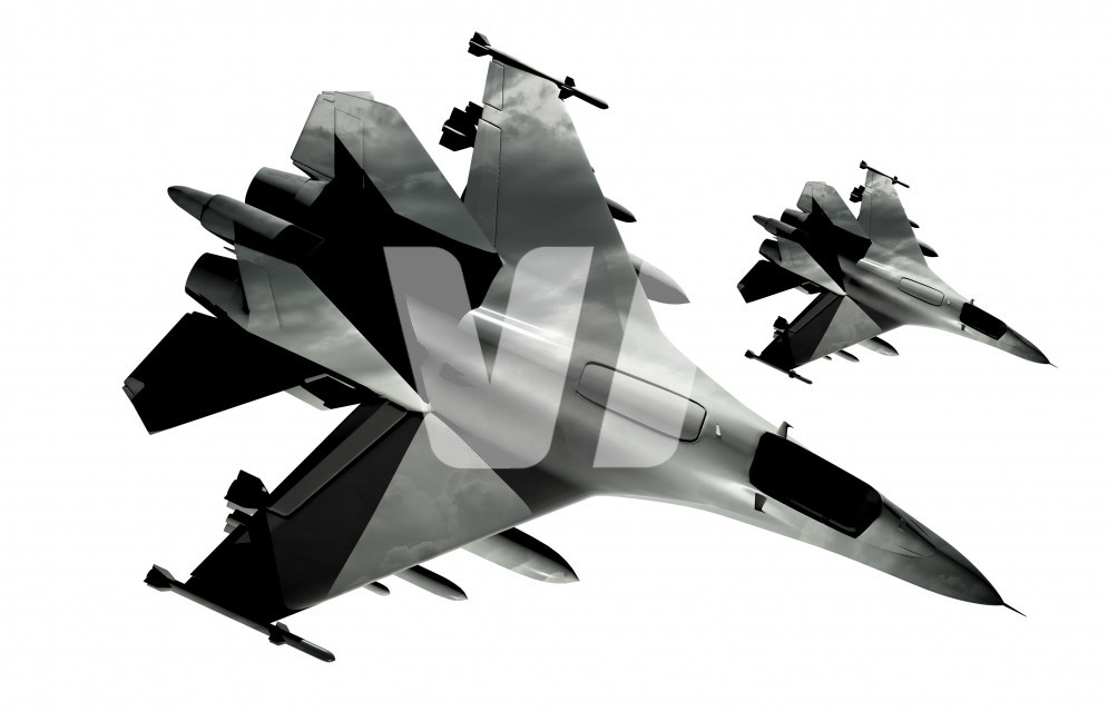 Fighter Jets Isolated