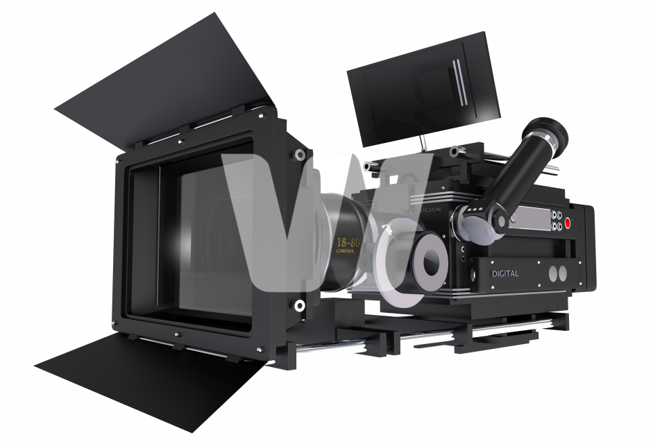 Film Camera PNG Object
