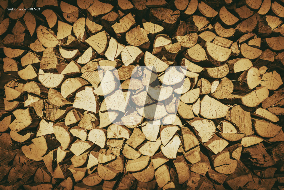 Firewood Logs Background