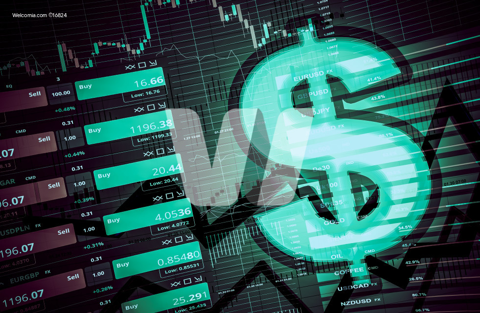 Forex Dollar Trading Concept
