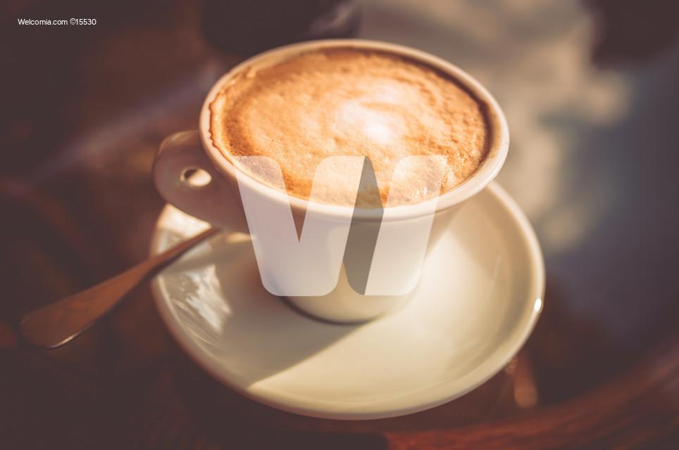 Fresh Tasty Cup of Coffee