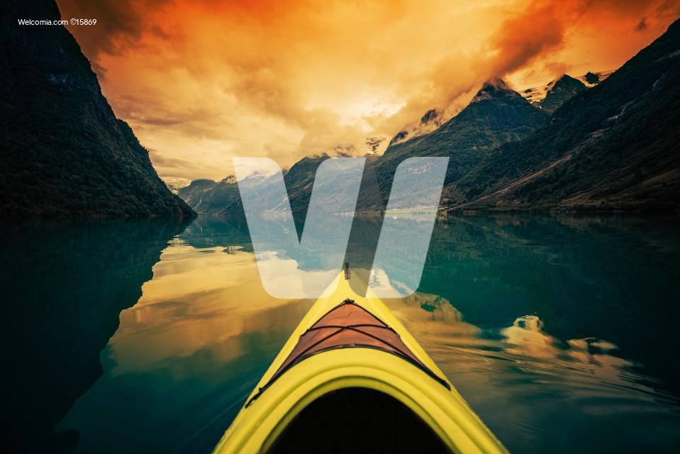 Glacier Lake Kayaking