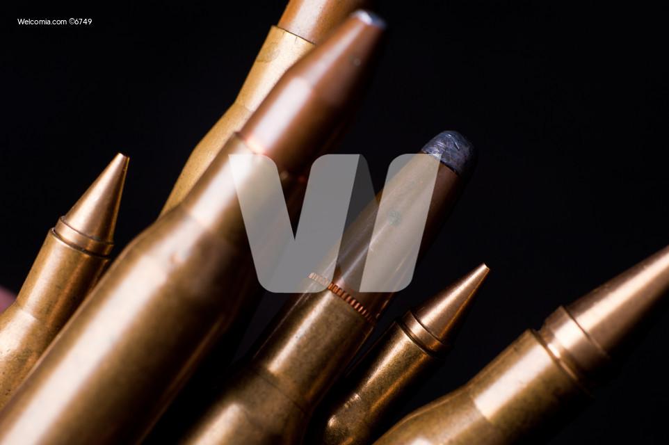 Golden Rifle Bullets