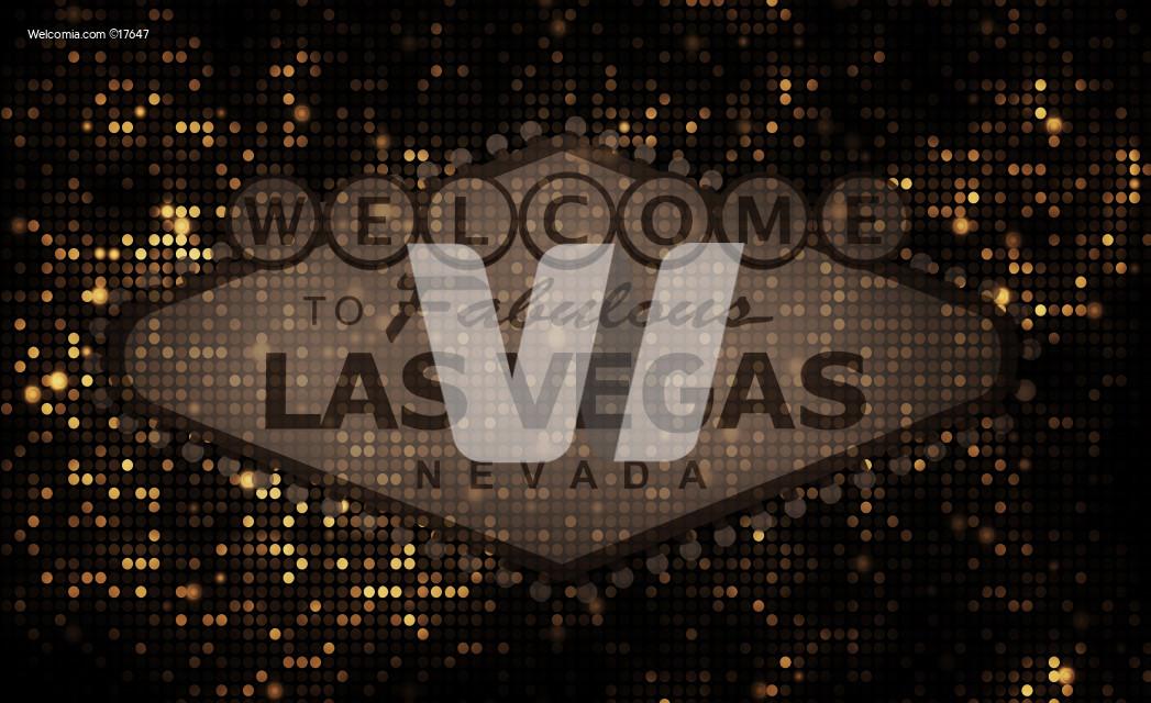 Golden Vegas Background