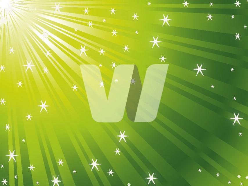Green Vector Rays