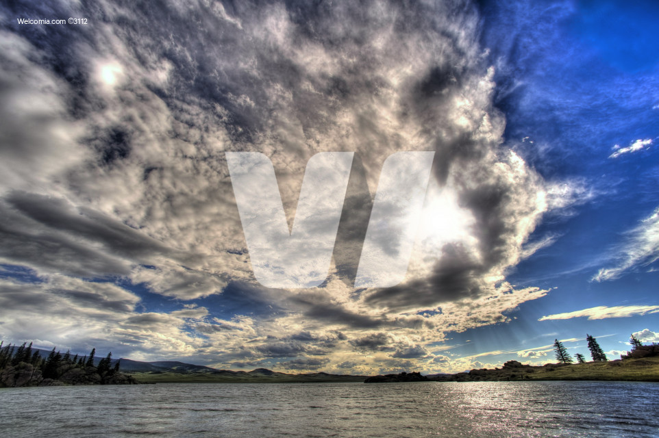 HDR Cloudy Sky