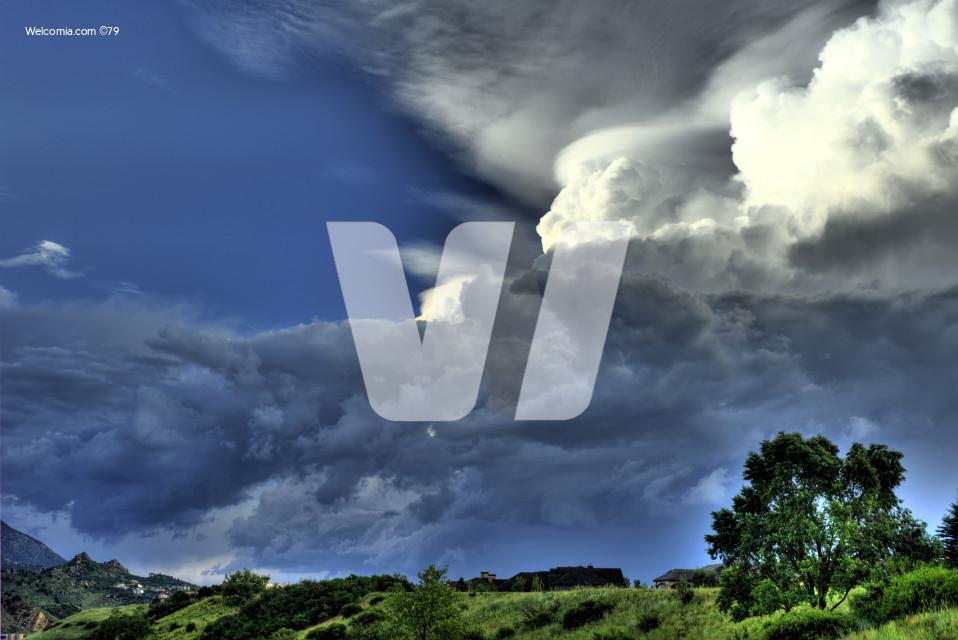 HDR Storm Cloud