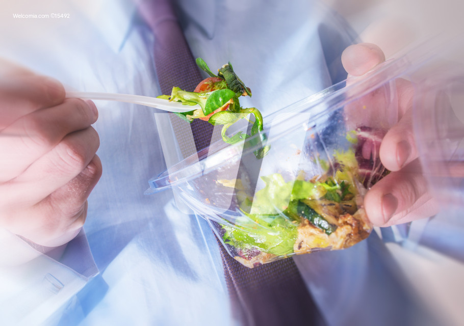 Healthy Office Food Eating