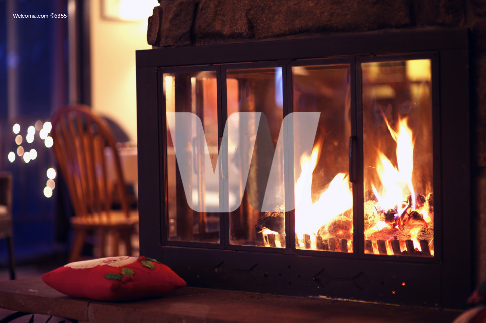 Hot Fireplace