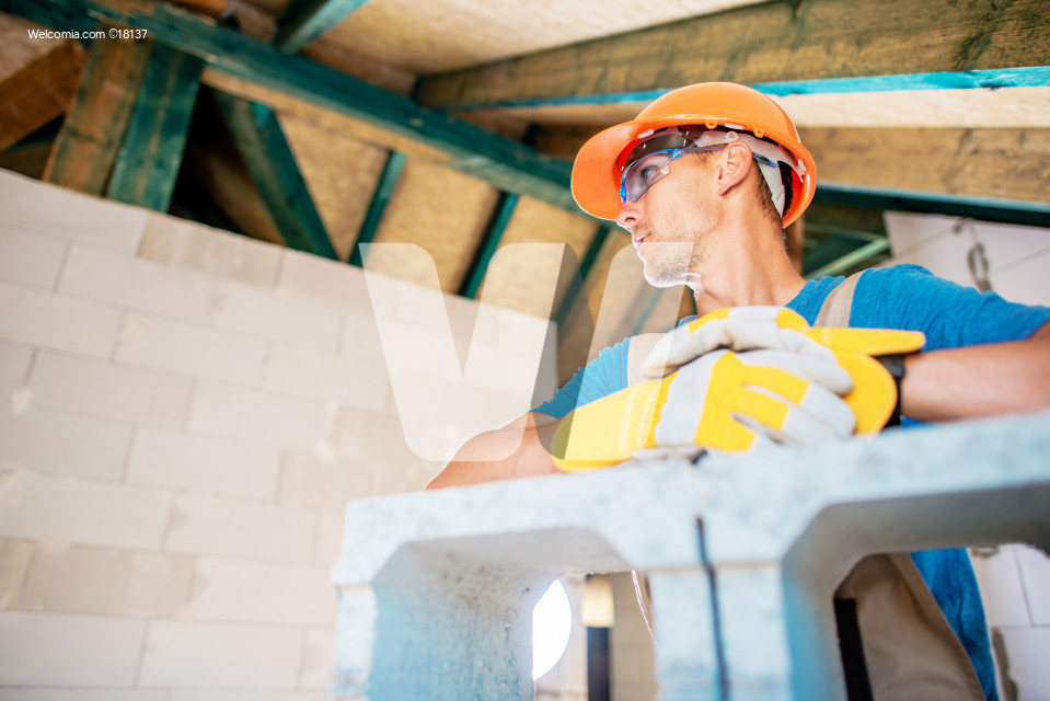House Construction Worker