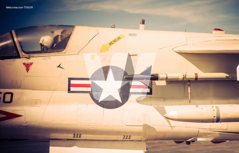 Jet Fighter Closeup
