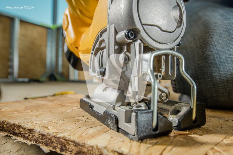 Jig Saw Woodwork Closeup
