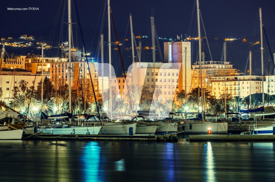 La Spezia Marina at Night