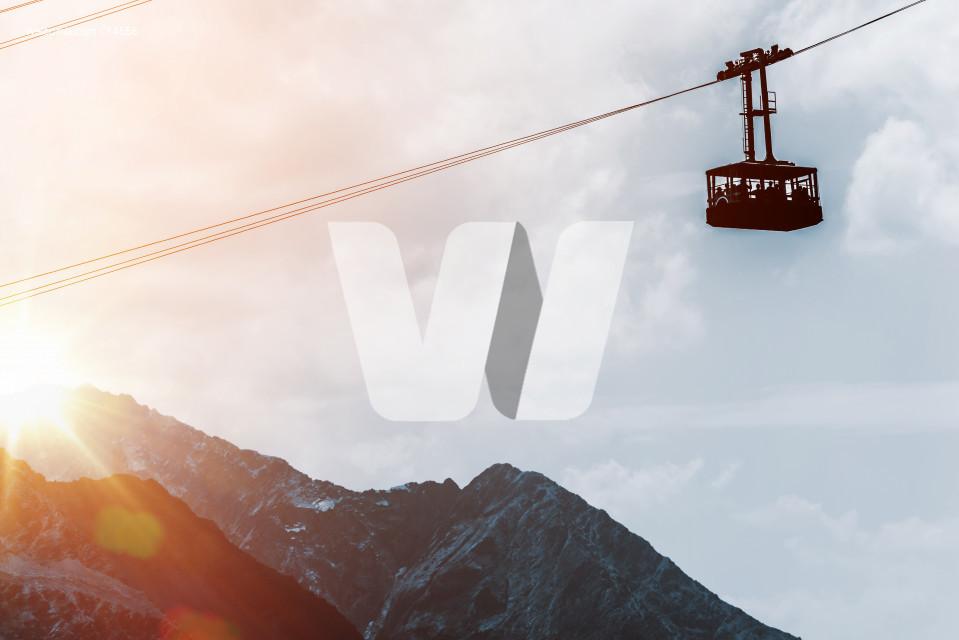 Mountains Gondola Lift