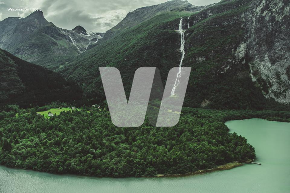 Norwegian Glacial Landscape