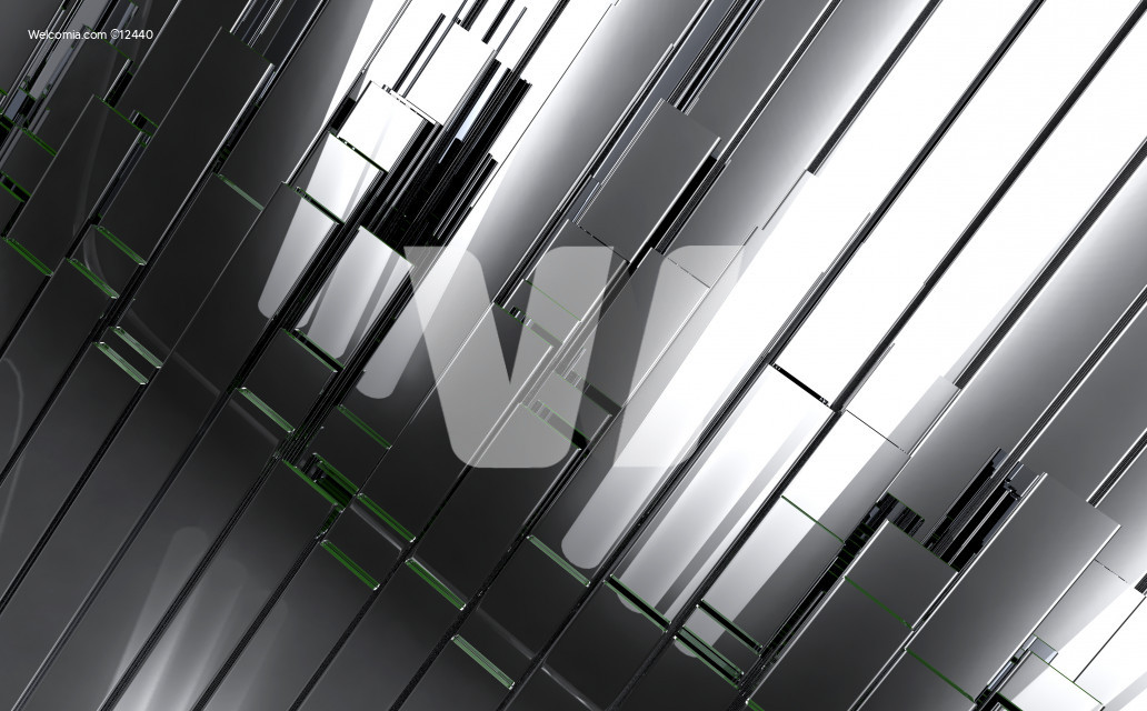 Polished Metal Bars Backdrop