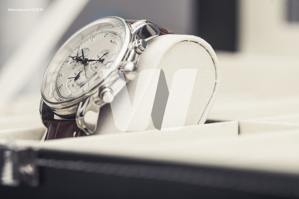 Pre Owned Luxury Hand Watch on Display