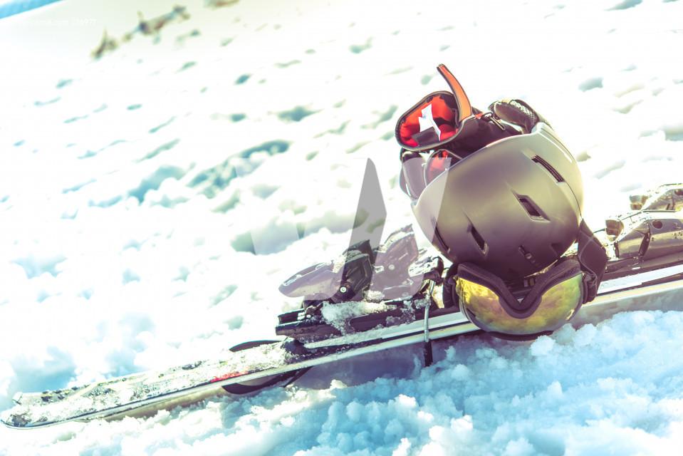 Pro Skiing Equipment