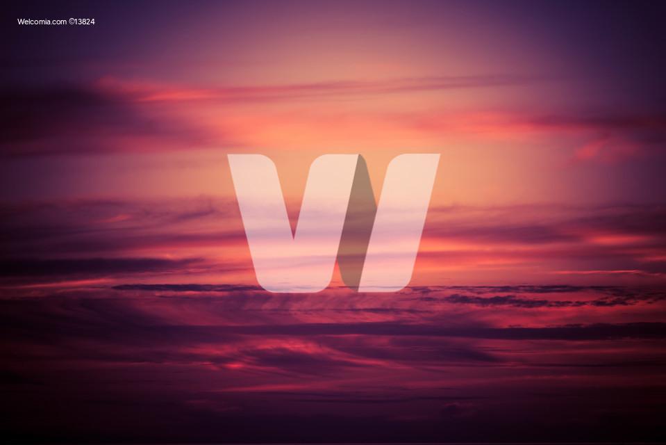 Purple Scenic Sunset Sky