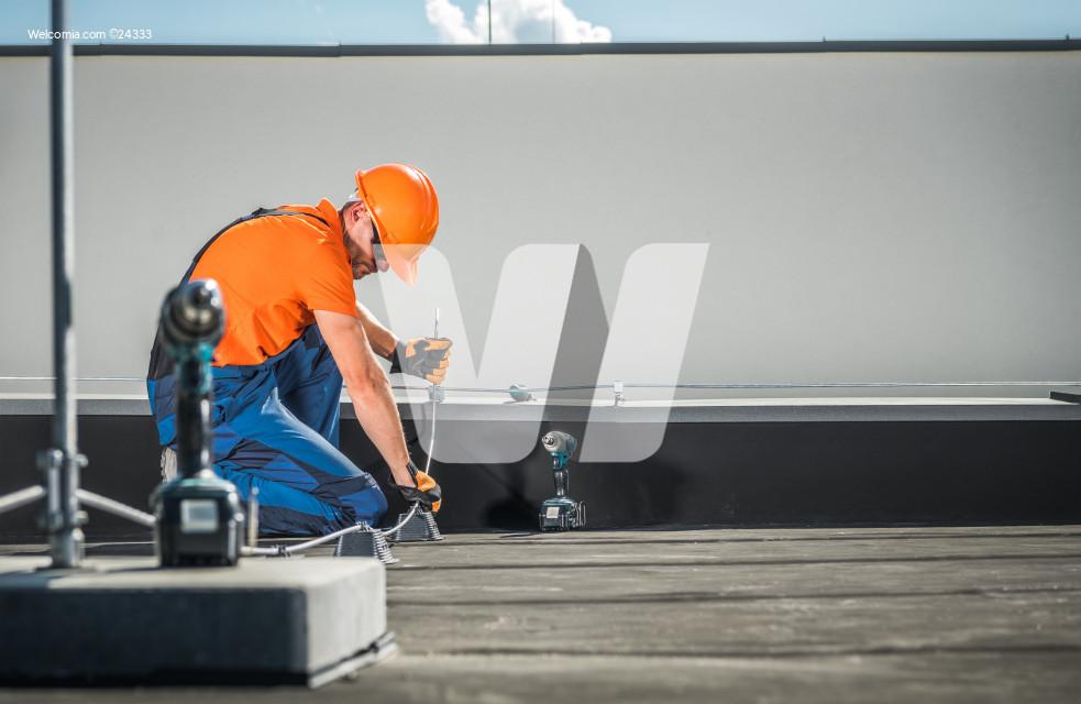 Residential Building Lightning Protection System Installer