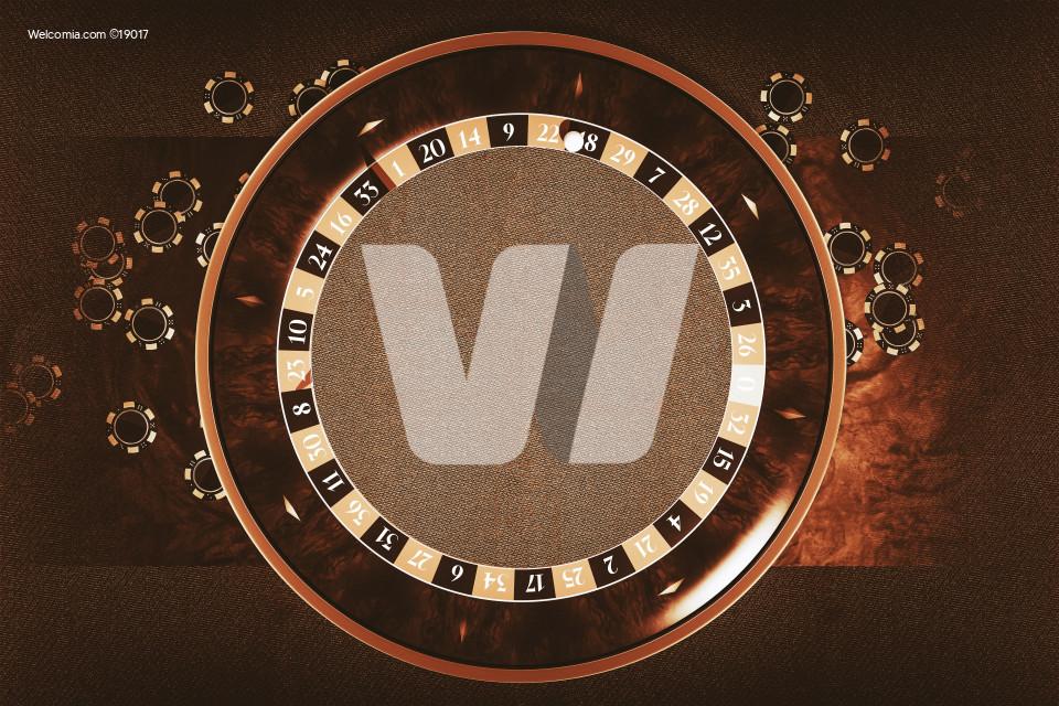 Roulette Wheel Copy Space