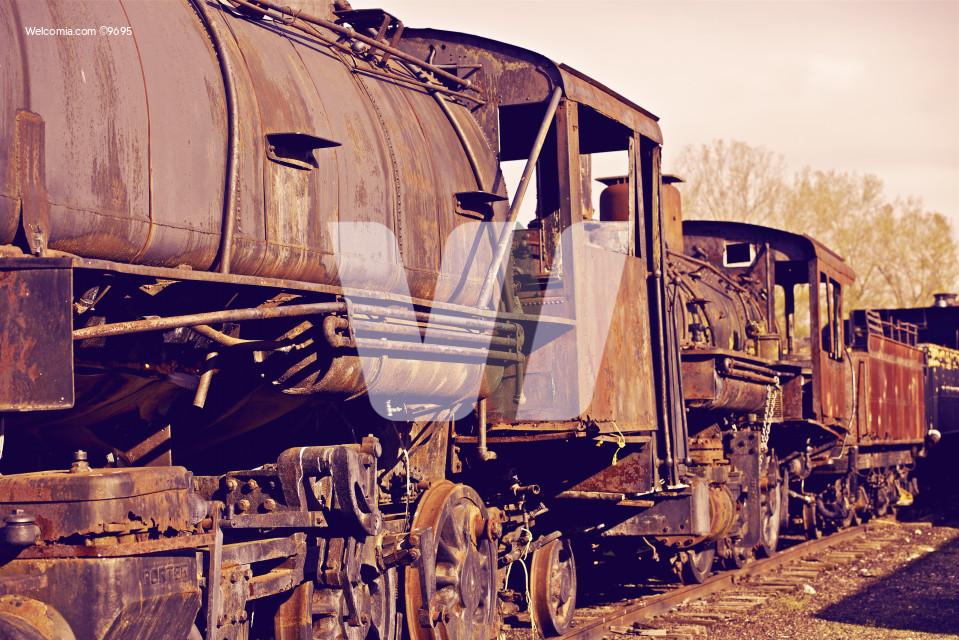 Rusty Locomotives